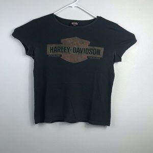 VTG Harley Davidson Atlantic City New Jersey Shirt